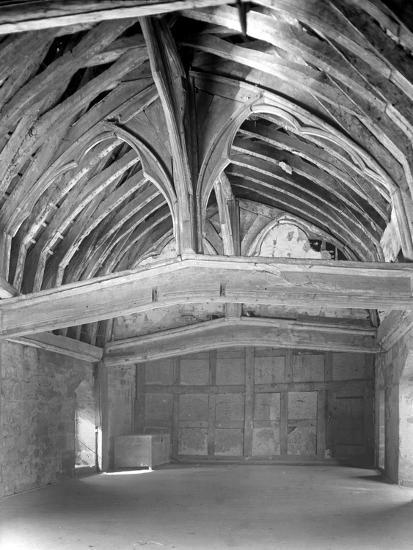 The Great Hall, Brinsop Court-Frederick Henry Evans-Photographic Print
