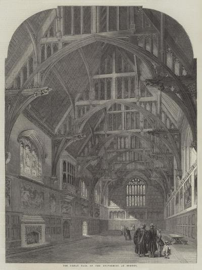 The Great Hall of the University at Sydney--Giclee Print