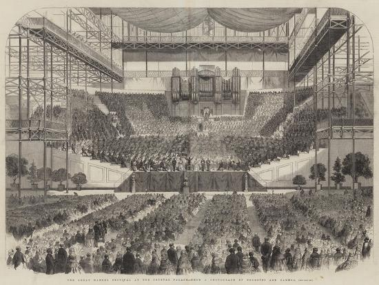 The Great Handel Festival at the Crystal Palace--Giclee Print