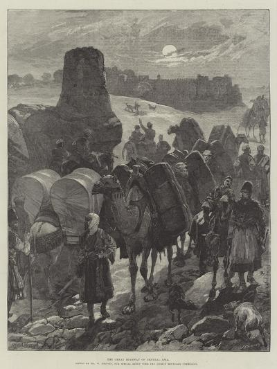 The Great Highway of Central Asia-William Heysham Overend-Giclee Print