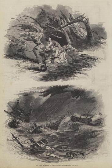 The Great Hurricane at the Havannah--Giclee Print
