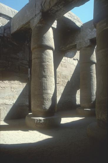 The Great Hypostyle Hall, Temple of Amun, Karnak, Egypt, 19th Dynasty, C13th Century Bc-CM Dixon-Photographic Print
