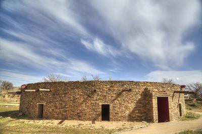 The Great Kiva, Aztec Ruins National Monument, UNESCO World Heritage Site-Richard Maschmeyer-Photographic Print