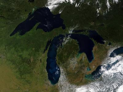 The Great Lakes-Stocktrek Images-Photographic Print