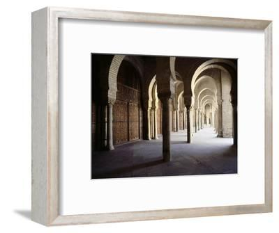 The Great Mosque at Kairouan-Werner Forman-Framed Giclee Print