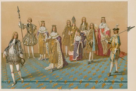 The Great Officers of State at a Coronation--Giclee Print