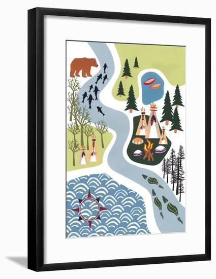 The Great Outdoors, 2016-Isobel Barber-Framed Giclee Print