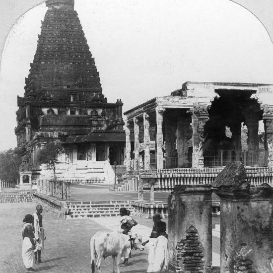 The Great Pagoda of Tanjore (Thanjavu), India, 1902-BL Singley-Photographic Print
