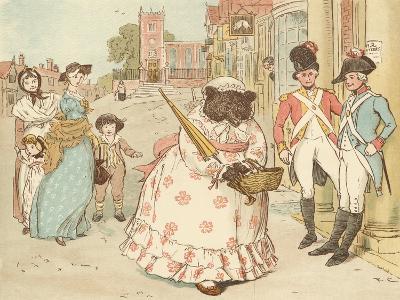 The Great Panjandrum Himself-Randolph Caldecott-Giclee Print