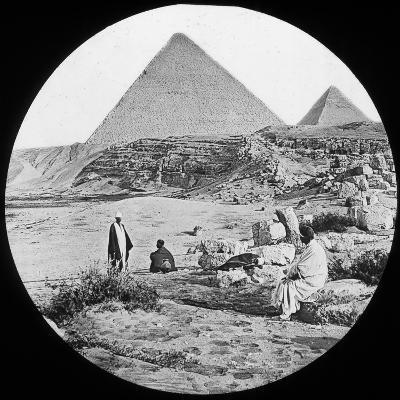 The Great Pyramids, Giza, Egypt, C1890-Newton & Co-Photographic Print