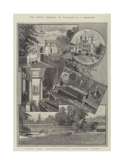The Great Schools of England, Harrow--Giclee Print