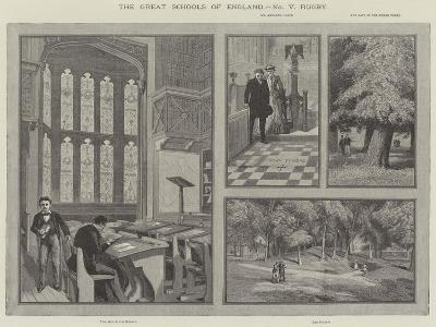 The Great Schools of England, Rugby--Giclee Print