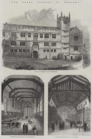 The Great Schools of England--Giclee Print