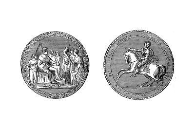 The Great Seal of King George IV, C1895--Giclee Print