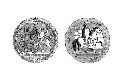 The Great Seal of King William IV, C1895--Giclee Print