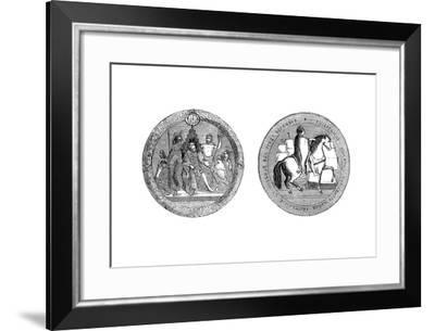 The Great Seal of King William IV, C1895--Framed Giclee Print