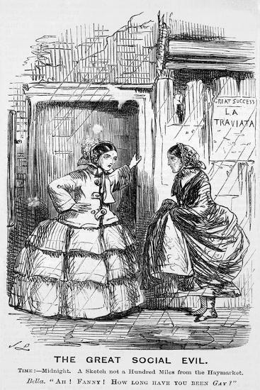 The Great Social Evil, Punch, 12 September 1857117-John Leech-Giclee Print