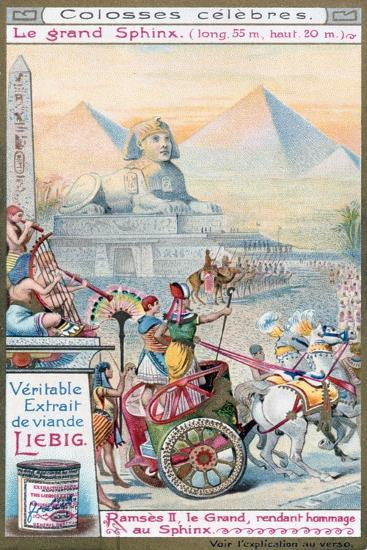 The Great Sphinx of Giza, Egypt, C1890-1910--Giclee Print