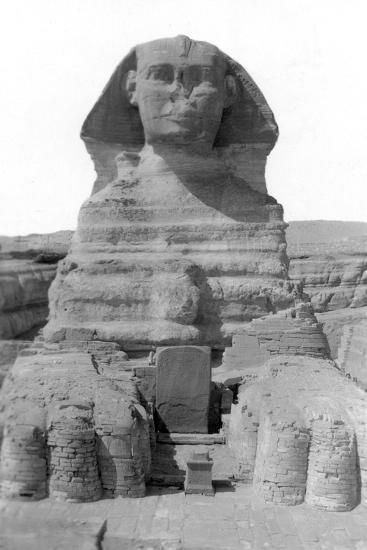 The Great Sphinx of Giza, Egypt, May 1949--Giclee Print