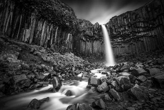 The Great Svartifoss-Janne Kahila-Photographic Print