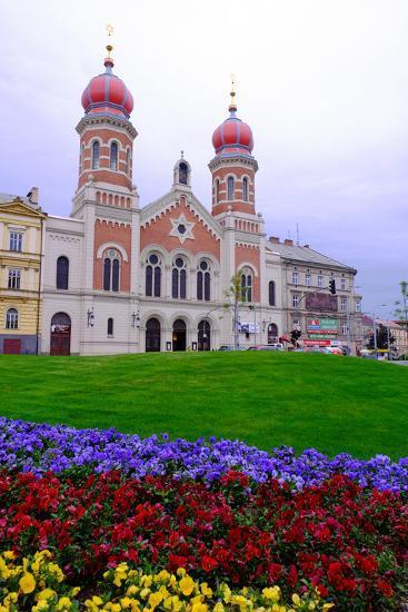 The Great Synagogue, Pilsen (Plzen), Western Bohemia, Czech Republic, Europe-Carlo Morucchio-Photographic Print