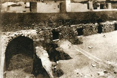 The Great Terrace on the Criptoportico, Pompeii, Italy, C1900s--Giclee Print