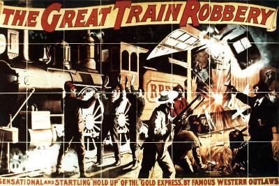 The Great Train Robbery, 1903, Directed by Edwin S. Porter--Giclee Print