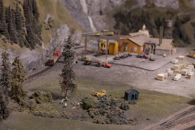 The Great Train Story Exhibit at the Museum of Science and Industry--Photographic Print