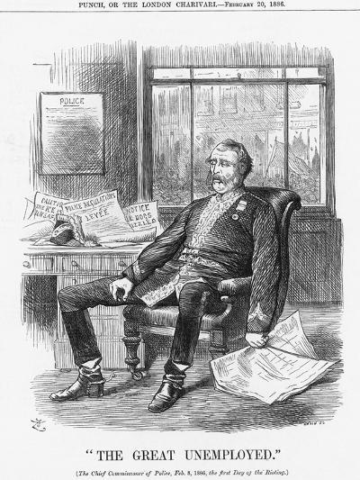 The Great Unemployed, 1886-Joseph Swain-Giclee Print