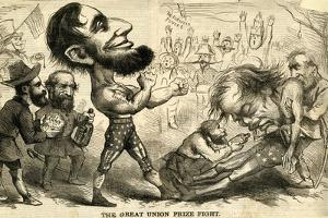 The Great Union Prize Fight, 1861