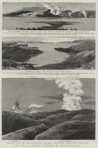 The Great Volcanic Eruption in New Zealand, II