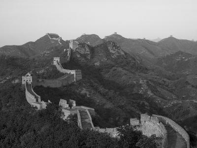 The Great Wall, Near Jing Hang Ling, Unesco World Heritage Site, Beijing, China-Adam Tall-Photographic Print