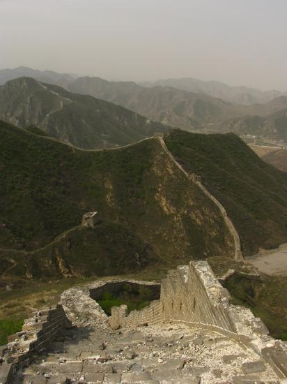 The Great Wall of China at the Juyongguan Pass-Richard Nowitz-Photographic Print
