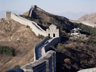 The Great Wall of China, Unesco World Heritage Site, Near Beijing, China-Adina Tovy-Photographic Print