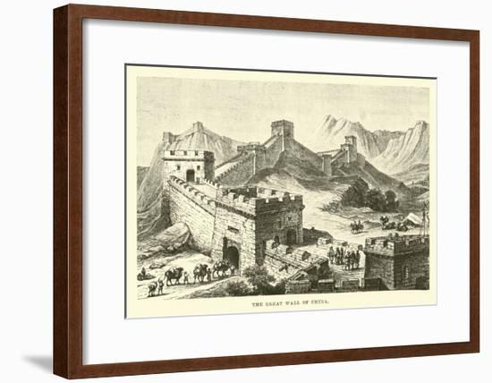The Great Wall of China--Framed Giclee Print