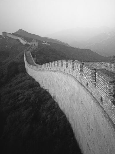 The Great Wall of China-George Hammerstein-Photographic Print