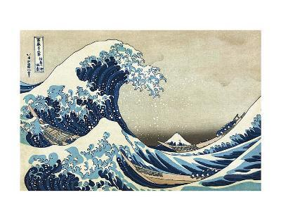 The Great Wave at Kanagawa-Katsushika Hokusai-Art Print