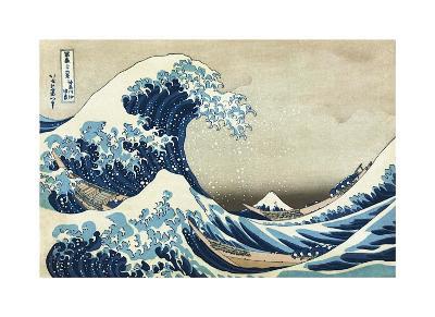 The Great Wave at Kanagawa-Katsushika Hokusai-Giclee Print