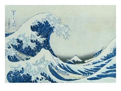 The Great Wave of Kanagawa, 1831-Katsushika Hokusai-Giclee Print