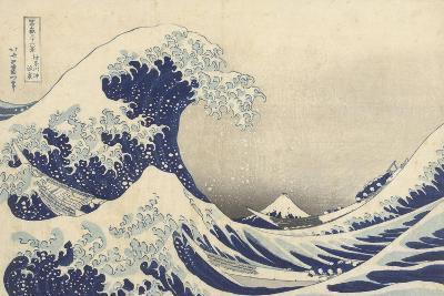 The Great Wave off Kanagawa, c.1830-Katsushika Hokusai-Giclee Print