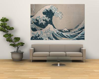 "The Great Wave Off Kanagawa, from the Series ""36 Views of Mt. Fuji"" (""Fugaku Sanjuokkei"")-Katsushika Hokusai-Giant Art Print"