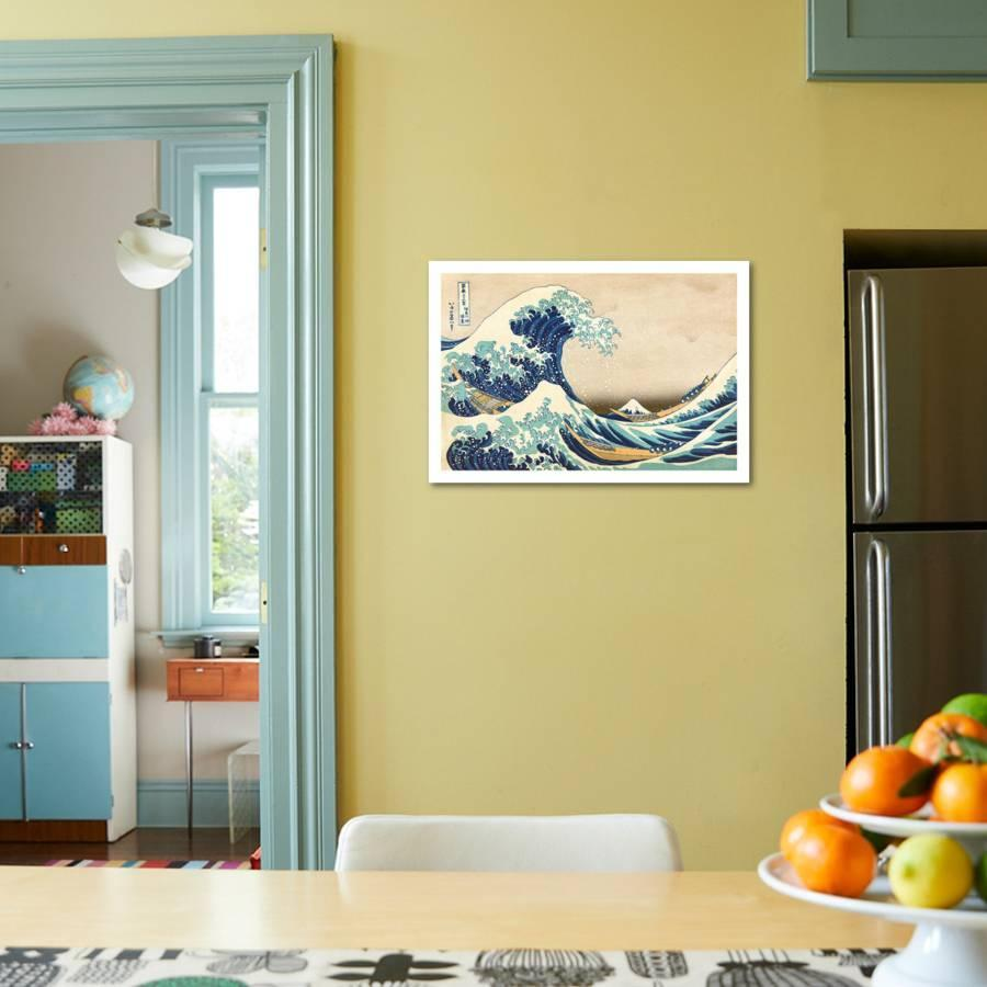 The Great Wave Off Kanagawa Art Print by Katsushika Hokusai | Art.com