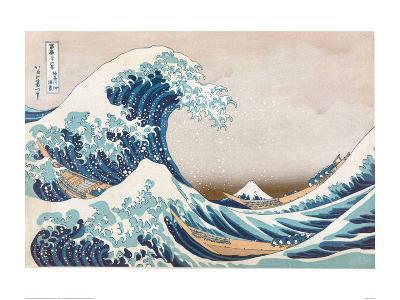 The Great Wave Off Kanagawa--Art Print
