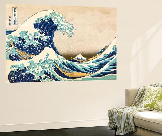 The Great Wave Off Kanagawaby Katsushika Hokusai