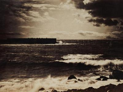 The Great Wave, Sete, 1856-9-Gustave Le Gray-Giclee Print