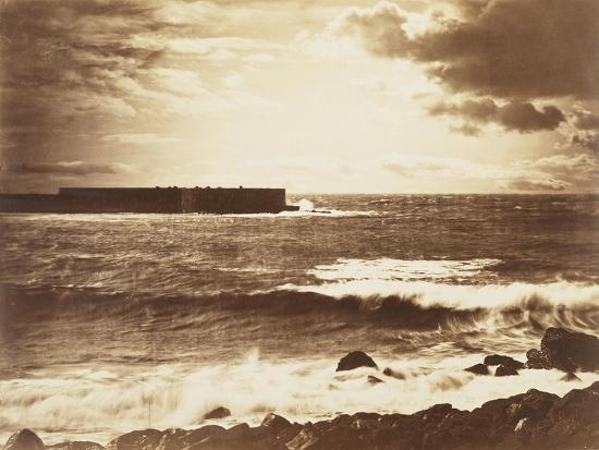 The Great Wave-Gustave Le Gray-Giclee Print