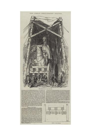 The Great Wellington Statue--Giclee Print