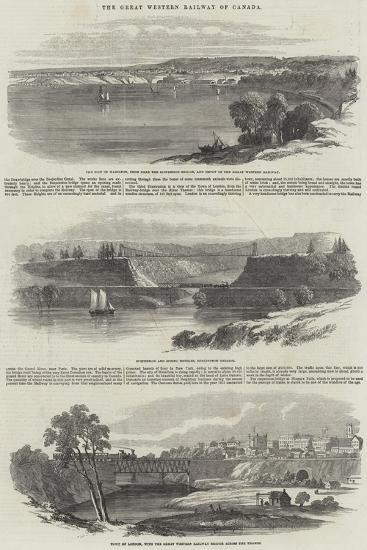 The Great Western Railway of Canada--Giclee Print