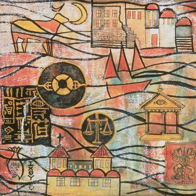 The Great Years II-Sabira Manek-Giclee Print
