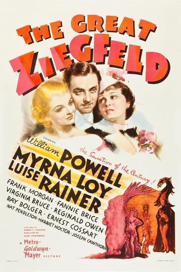 The Great Ziegfeld, 1936--Giclee Print